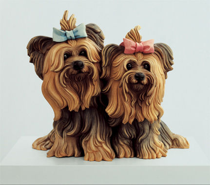 Yorkshire Terriers by Jeff Koons
