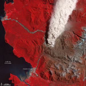 Continuing Activity at Chaiten Volcano : Image of the Day