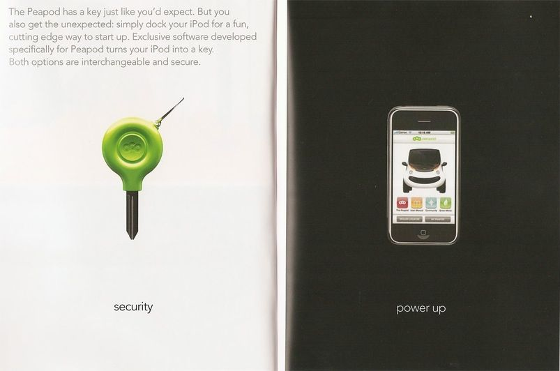 Gizmodo - Chrysler's Peapod 'Neighborhood Car' Turns Your iPhone Into a Key - Cars