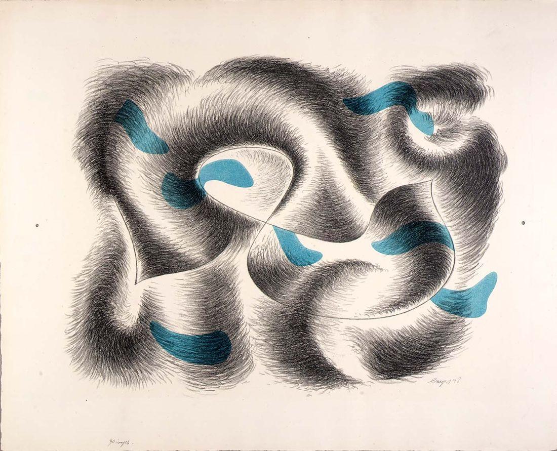 Seven Convolutions, portfolio by Herbert Bayer   SAAM