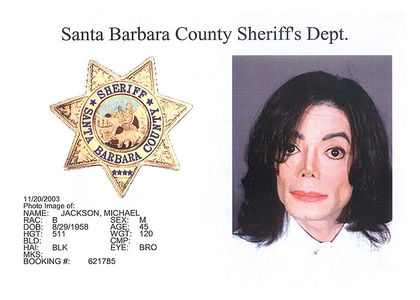 TSG Mug Shot: Michael Jackson