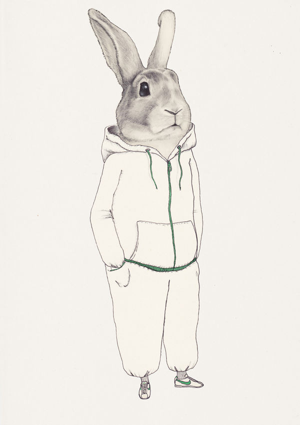 lapin by marianne ratier on yay!everyday