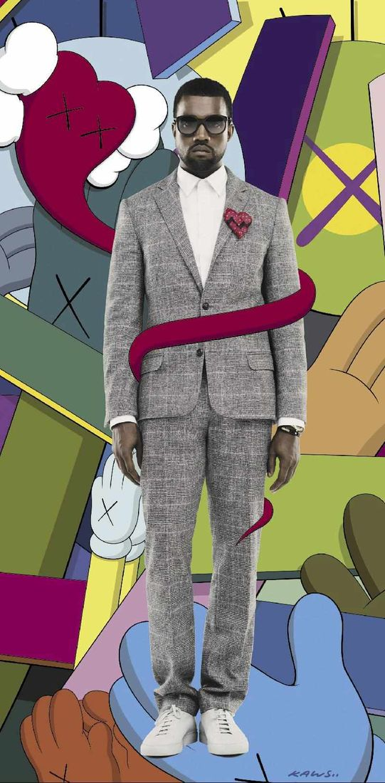 Flickr Photo Download: KAWS FOR KANYE