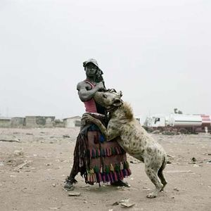 Abdullahi Mohammed with Mainasara, Ogere-Remo, Nigeria 2007 - PIETER HUGO