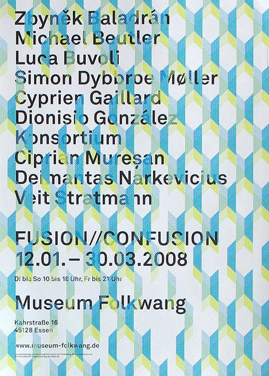 Museum Folkwang; Plakat : JUNG   WENIG