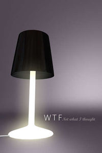 Photos of Rebel Lamps - The 'WTF, Not What I Thought' Light by John Nouanesing  (pictures, images, etc.)