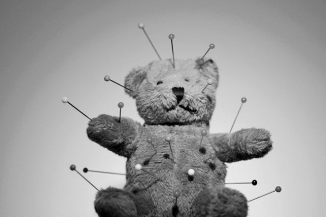 Flickr Photo Download: Voodoo Teddy