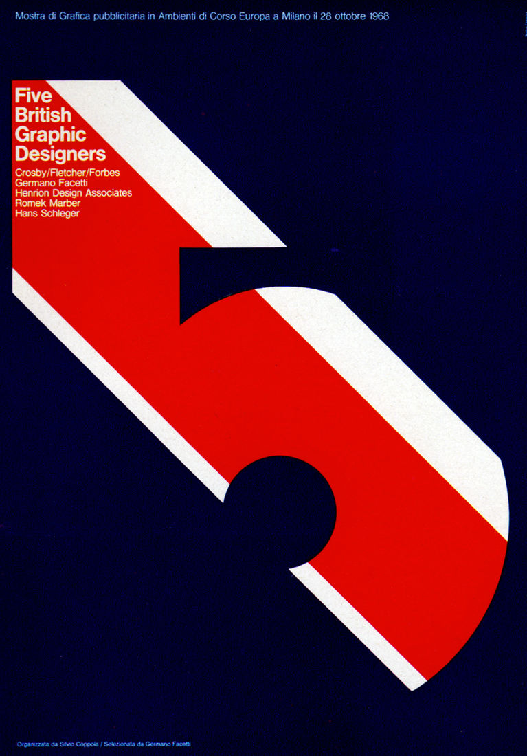 Flickr Photo Download: 1960s Advertising - Poster - Five British Graphic Designers (Italy)