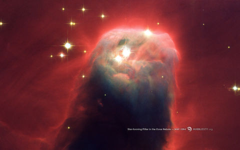HubbleSite - Wallpaper: The Cone Nebula (NGC 2264)