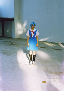 Flickr Photo Download: that blue girl