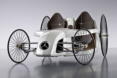 Mercedes-Benz Retro Electro Roadster Sets New Standards : TreeHugger