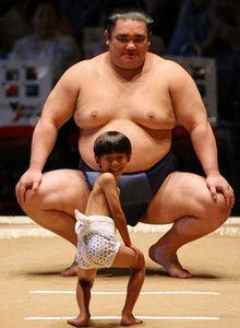 Sumo Mismatch - Funny Sumo Pictures