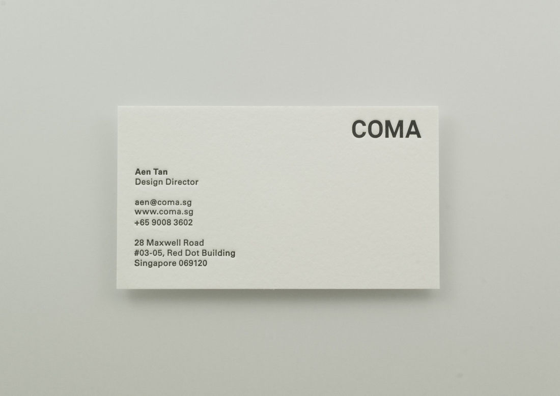 Flickr Photo Download: Coma Business Card - 15827 - Buamai