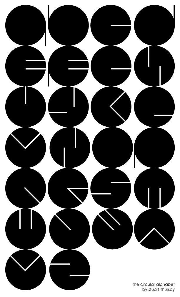 Flickr Photo Download: The Circular Alphabet