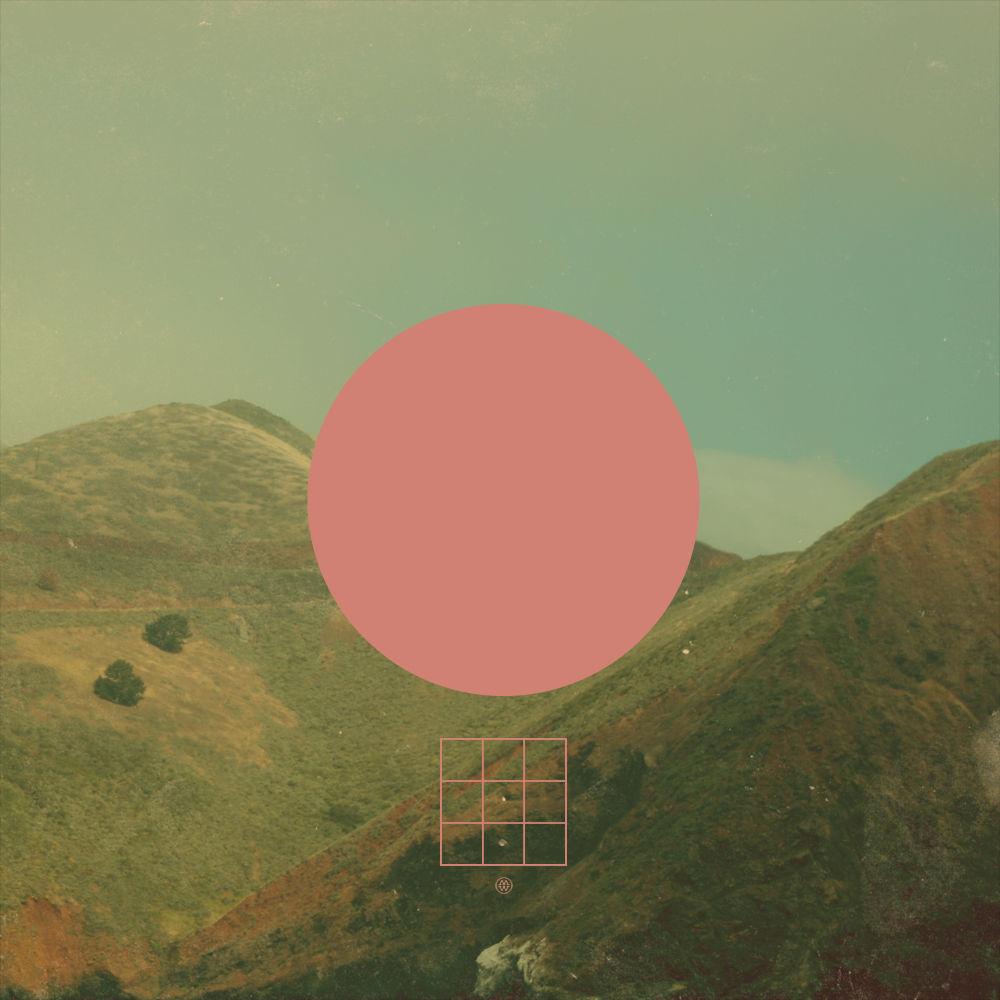 Flickr Photo Download: pink circle over landscape