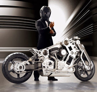 Limited-Edition Fighter Motorcycle - Core77
