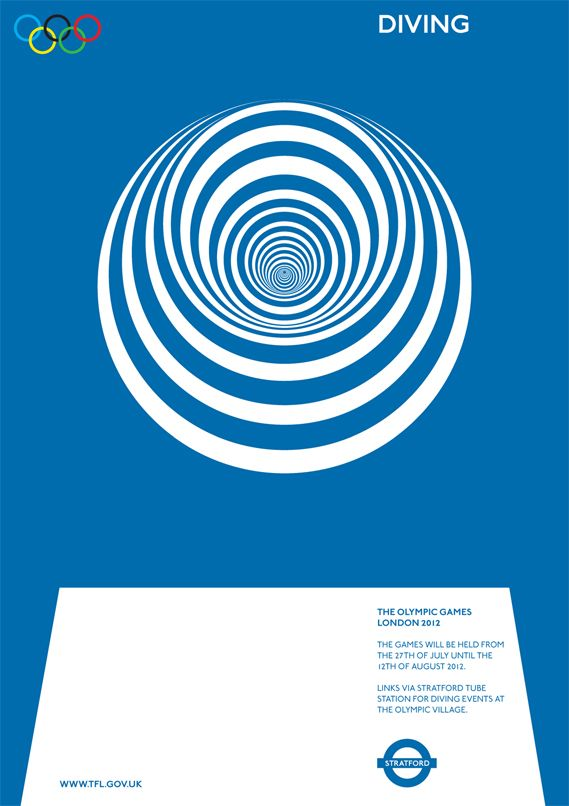 Creative Review - Olympics movement posters
