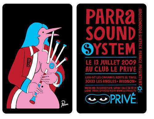 Highsnobiety.com: Columns | Sixpack | Sixpack France present Parra SoundSysytem @ Le Privé.