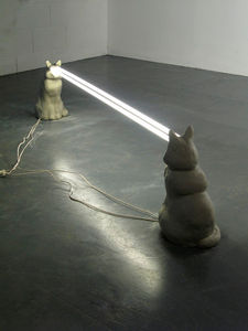 Staring Cats Light Sculpture is Fixating - Core77
