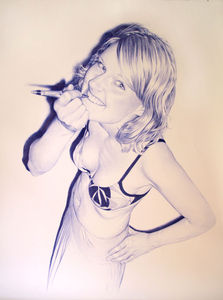 Juan Francisco Casas Ballpoint Artworks | Trend.Land