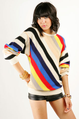 Sonia Rykiel Striped Knit - NASTY GAL - Vintage Clothing, 80s Vintage Clothes, Vintage Sunglasses, Vintage Dresses!