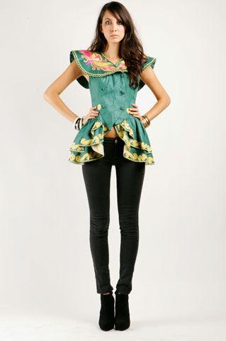 Nadia Cape-Shoulder Jacket  - NASTY GAL - Vintage Clothing, 80s Vintage Clothes, Vintage Sunglasses, Vintage Dresses!