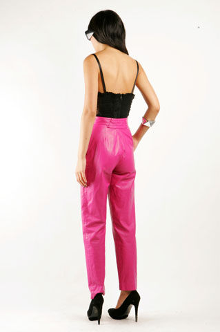 Bubblegum Leather Trousers - NASTY GAL - Vintage Clothing, 80s Vintage Clothes, Vintage Sunglasses, Vintage Dresses!