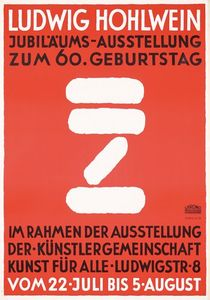 Flickr Photo Download: Ludwig Hohlwein Anniversary Exhibition (1934)