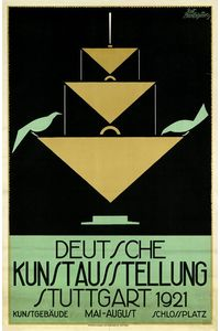 Flickr Photo Download: German Art Exhibition, Stuttgart (1921)