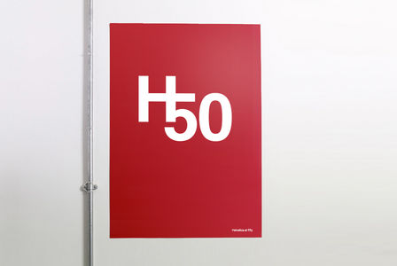 Flickr Photo Download: Helvetica+50 Poster