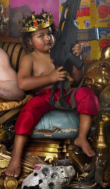 LaChapelle revient avec « The Rape of Africa » - PHOTO.fr