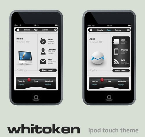 Neat and Tidy iPod Touch Theme Makes My iPhone Jealous - Ipod touch themes - Gizmodo