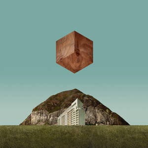 Flickr Photo Download: Wooden Cube Over Landscape