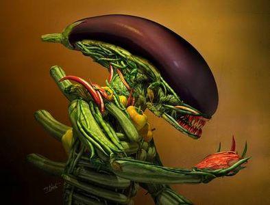 Veggie alien | Designer Daily