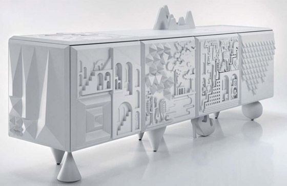 Cabinet Tout va bien by Antoine Marcel   mecho - the style black book