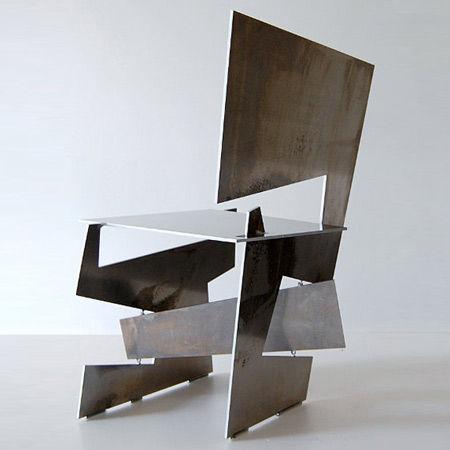 Dezeen   » Blog Archive   » Hack Chair by Ronen Kadushin