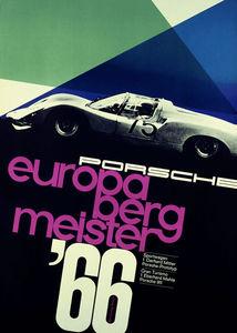 grain edit · Vintage Porsche Posters