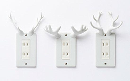 nendo: 'socket deer'