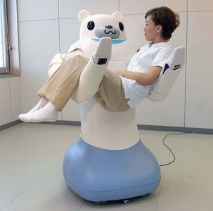 RIBA robot nurse bear