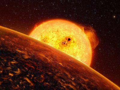 ESO divulga imagem do menor e mais r?pido exoplaneta conhecido -
