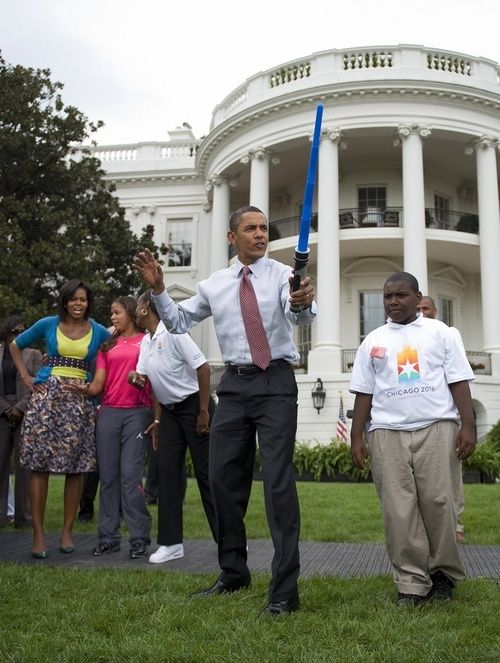 Barack Obama's Geekiest Moments - Barack Obama - Gawker