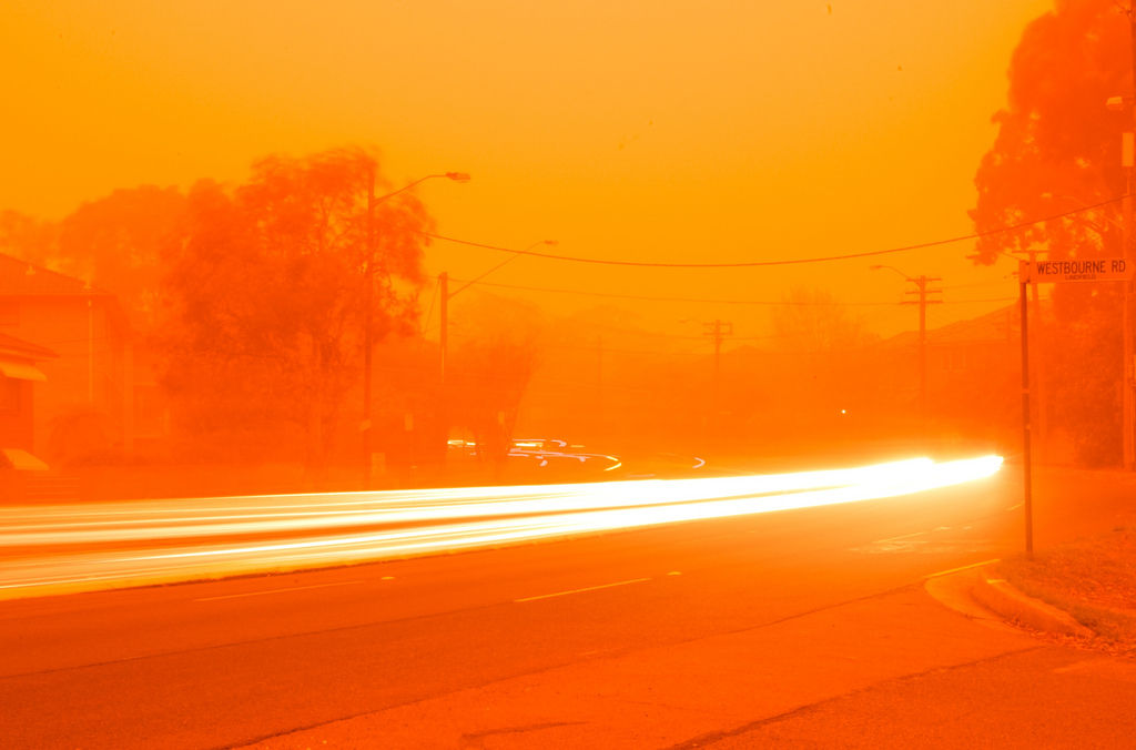 Flickr Photo Download: Sydney duststorm