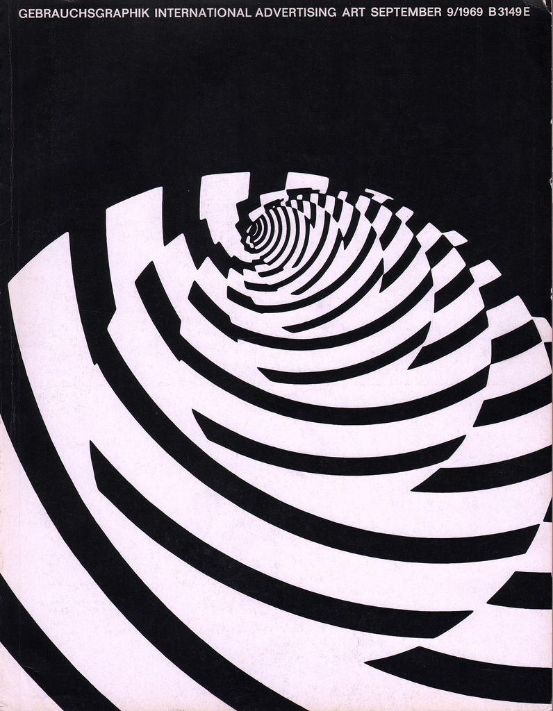 Flickr Photo Download: 06 Gebrauchsgraphik magazine, Sept. 1969 cover
