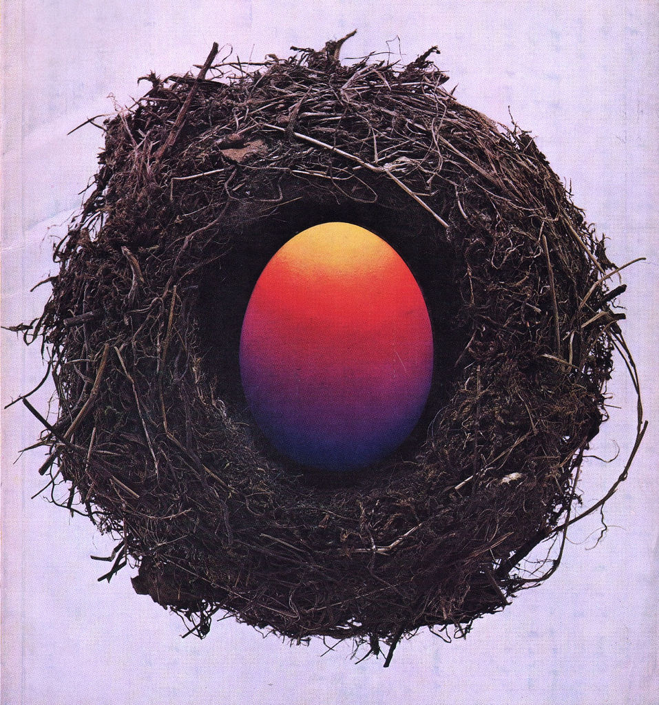 Flickr Photo Download: 09 Gebrauchsgraphik magazine, March 1967 (cover detail)