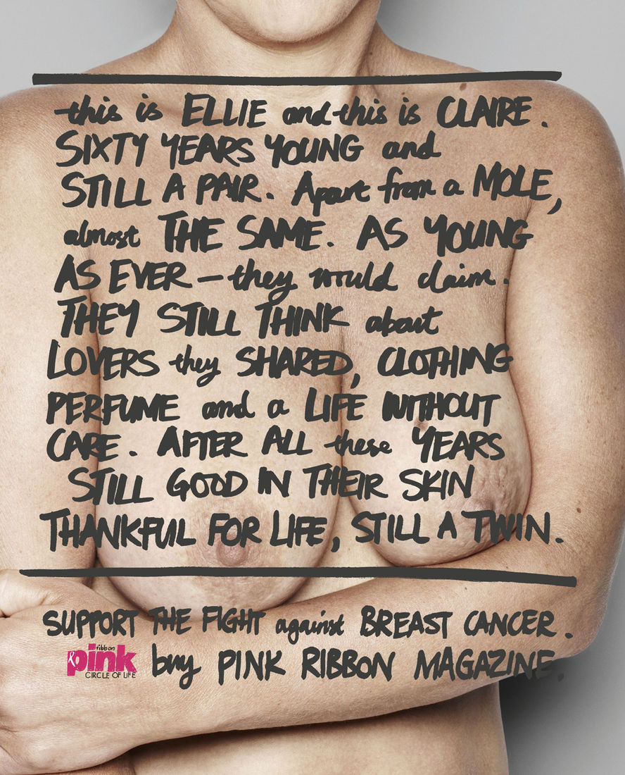 Pink Ribbon Magazine: Circle of life, Old | Ads of the World