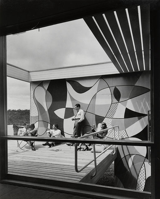 Téléchargement de photo Flickr : Rose Seidler House, Wahroonga, Sydney, 1951   photographed by Marcel Seidler