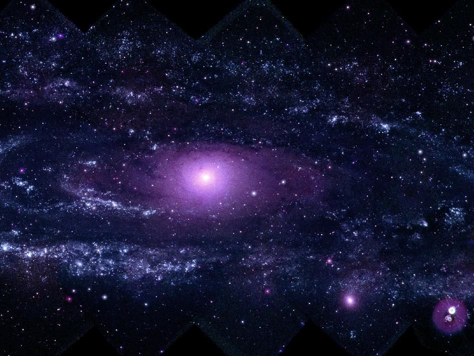 NASA - Andromeda in Ultraviolet