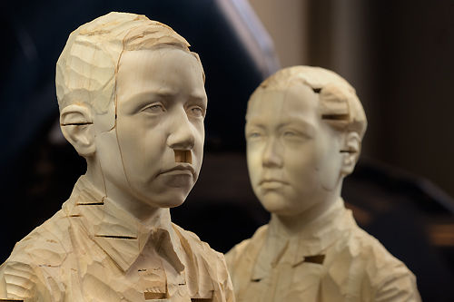 """Hitler and Mao"" by Gehard Demetz"