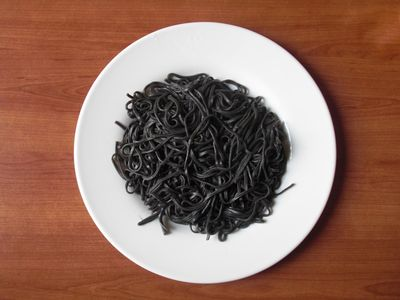 Flickr Photo Download: Tagliatelli al nero di seppia