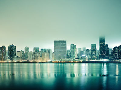 Flickr Photo Download: Hazy City Nights